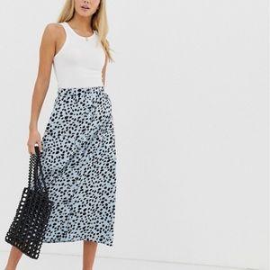 ASOS cheetah skirt